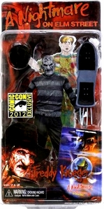 NECA Nightmare on Elm Street 2012 SDCC San Diego Comic Con Exclusive 7 Inch Action Figure B&W Dream Child Freddy Krueger