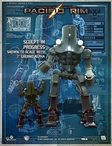 NECA Pacific Rim 18 Inch Action Figure Cherno Alpha Pre-Order ships September