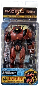 NECA Pacific Rim RE-ISSUE Action Figure Crimson Typhoon [Jaeger] New!