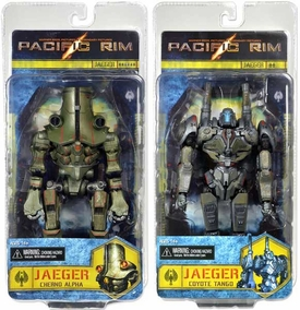 NECA Pacific Rim Series 3 Set of Both Action Figures [Coyote Tango & Cherno Alpha]