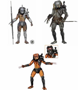 NECA Predator Movie Series 12 Set of 3 Action Figures  [Enforcer, Elder V2 & Viper] Pre-Order ships July