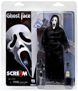 NECA Scream 8 Inch Action Doll Ghostface New!