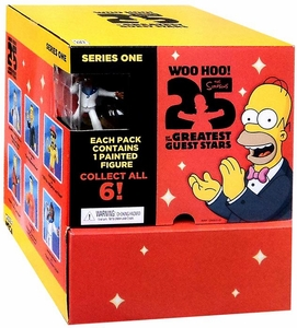 NECA Simpsons 25th Anniversary Series 1 Mini Figure Mystery BOX [24 Packs]