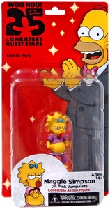 NECA Simpsons Series 2 Action Figure Maggie [Pink Jumpsuit]