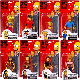 NECA Simpsons Series 2 Set of 8 Action Figures