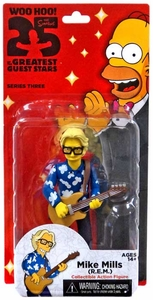 NECA Simpsons Series 3 Action Figure Mike Mills [R.E.M.] New!
