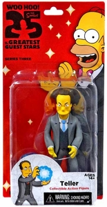 NECA Simpsons Series 3 Action Figure Teller New!