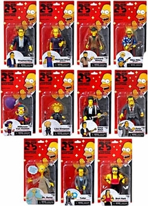 NECA Simpsons Series 3 Set of 11 Action Figures New!