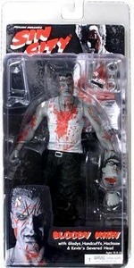 NECA Sin City Movie Series 2 Action Figure Bloody Marv (Mickey Rourke)