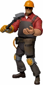 NECA Team Fortress 2 RED Series 3 Action Figure Engineer [In Game Virtual Item Redemption Code!] Pre-Order ships April