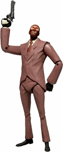NECA Team Fortress 2 RED Series 3 Action Figure Spy [In Game Virtual Item Redemption Code!] Pre-Order ships April