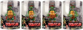 NECA Teenage Mutant Ninja Turtles Comic Style Set of 4 Action Figures [Tube Packaging]
