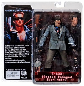 NECA Terminator Series 1 Action Figure T-800 {Tech Noir Battle Damaged} [The Terminator]