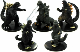 NECA Wizkids Set of all 5 Series 1 Godzilla Classic Mini Figures