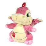 Neopets Limited Edition Plushie Pink Scorchio (Patchwork) BLOWOUT SALE!