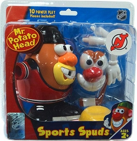 New Jersey Devils Mr. Potato Head NHL Sports Spuds