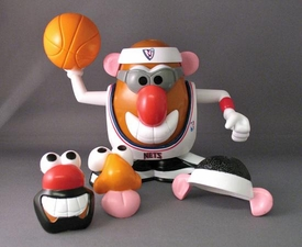 New Jersey Nets Mr. Potato Head NBA Sports Spuds