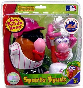 New York Mets Mrs. Potato Head MLB Sports Spuds