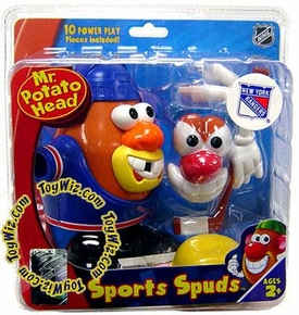 New York Rangers Mr. Potato Head NHL Sports Spuds