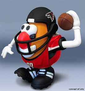 NFL Sports Spuds Atlanta Falcons Mr. Potato Head
