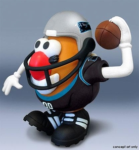 NFL Sports Spuds Carolina Panthers Mr. Potato Head