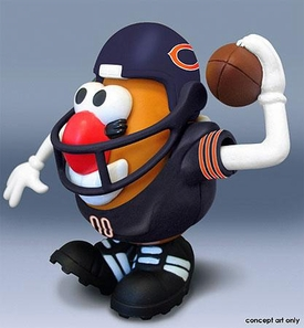 NFL Sports Spuds Chicago Bears Mr. Potato Head