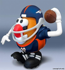 NFL Sports Spuds Denver Broncos Mr. Potato Head