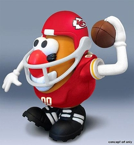NFL Sports Spuds Kansas City Chiefs Mr. Potato Head
