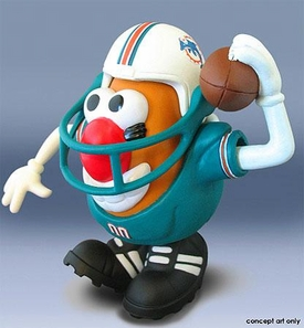 NFL Sports Spuds Miami Dolphins Mr. Potato Head