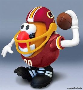 NFL Sports Spuds Washington Redskins Mr. Potato Head