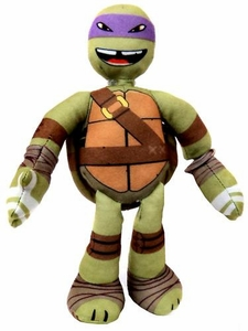 Nickelodeon Teenage Mutant Ninja Turtles 10 Inch Sling Shouts Plush with Sound Donatello