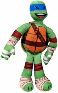Nickelodeon Teenage Mutant Ninja Turtles 10 Inch Sling Shouts Plush with Sound Leonardo New!