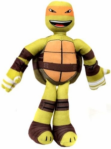 Nickelodeon Teenage Mutant Ninja Turtles 10 Inch Sling Shouts Plush with Sound Michelangelo New!