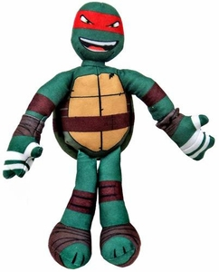 Nickelodeon Teenage Mutant Ninja Turtles 10 Inch Sling Shouts Plush with Sound Raphael New!