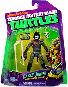Nickelodeon Teenage Mutant Ninja Turtles Basic Action Figure Casey Jones [Street Banging Vigilante] New Hot!