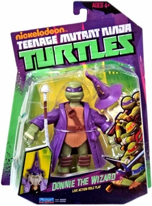 Nickelodeon Teenage Mutant Ninja Turtles Basic Action Figure Donnie The Wizard [Live Action Role Play]