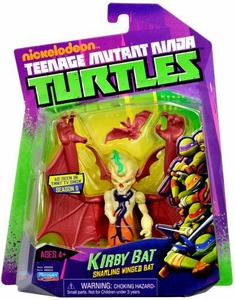 Nickelodeon Teenage Mutant Ninja Turtles Basic Action Figure Kirby Bat [Snarling Winged Bat] New!