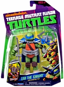 Nickelodeon Teenage Mutant Ninja Turtles Basic Action Figure Leo the Knight [Live Action Role Play]