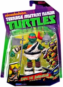 Nickelodeon Teenage Mutant Ninja Turtles Basic Action Figure Raph the Barbarian [Live Action Role Play]