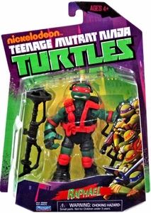 Nickelodeon Teenage Mutant Ninja Turtles Basic Action Figure Stealth Tech Raphael [Without Zip Line]