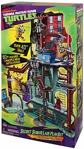 Nickelodeon Teenage Mutant Ninja Turtles Deluxe Playset Secret Sewer Lair