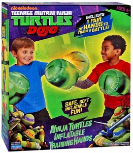 Nickelodeon Teenage Mutant Ninja Turtles Dojo Inflatable Training Hands