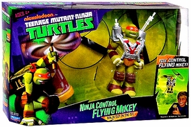 Nickelodeon Teenage Mutant Ninja Turtles Ninja Control Flying Mikey [Ninja Guy in the Sky]