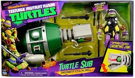 Nickelodeon Teenage Mutant Ninja Turtles Vehicle Turtle Sub [Includes Exclusive Diver Donnie Figure] New!