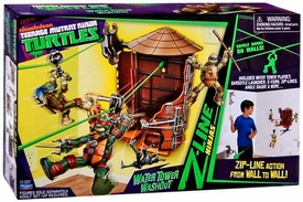 Nickelodeon Teenage Mutant Ninja Turtles Z-Line Ninjas Playset Water Tower Washout New!