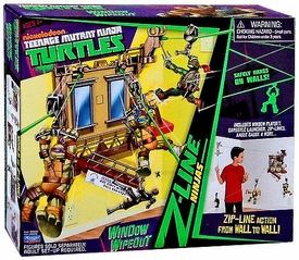 Nickelodeon Teenage Mutant Ninja Turtles Z-Line Ninjas Playset Window Wipeout