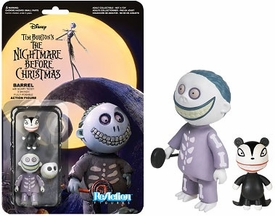 Nightmare Before Christmas Funko 3.75 Inch ReAction Figure Barrel New!