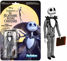 Nightmare Before Christmas Funko 3.75 Inch ReAction Figure Jack Skellington Pre-Order ships October