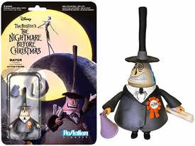 Nightmare Before Christmas Funko 3.75 Inch ReAction Figure Mayor New!