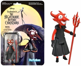 Nightmare Before Christmas Funko 3.75 Inch ReAction Figure  The Devil Pre-Order ships August
